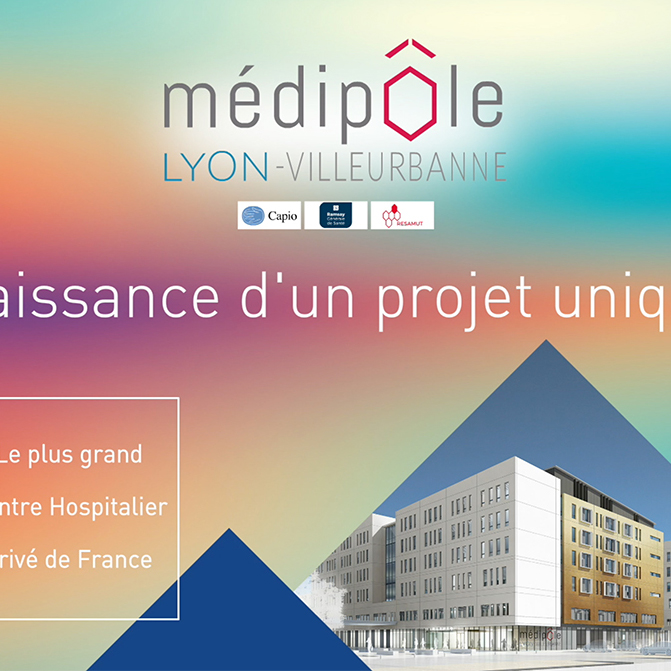 Video promotionnelle Medipole Lyon Villeurbanne