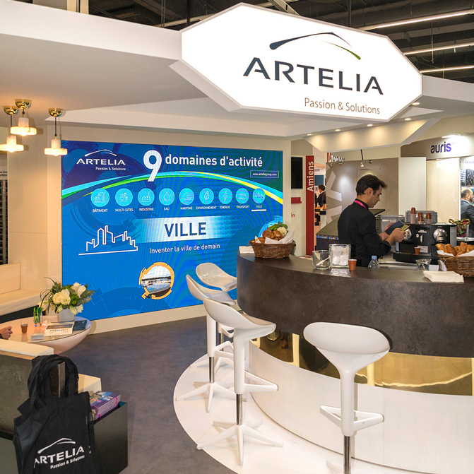 Salon professionnel ARTELIA