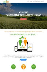 Site web agrfind.fr