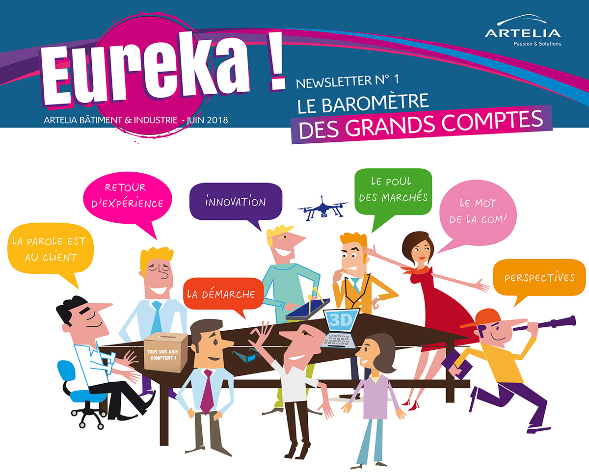 EUREKA ! La Newsletter Grands Comptes