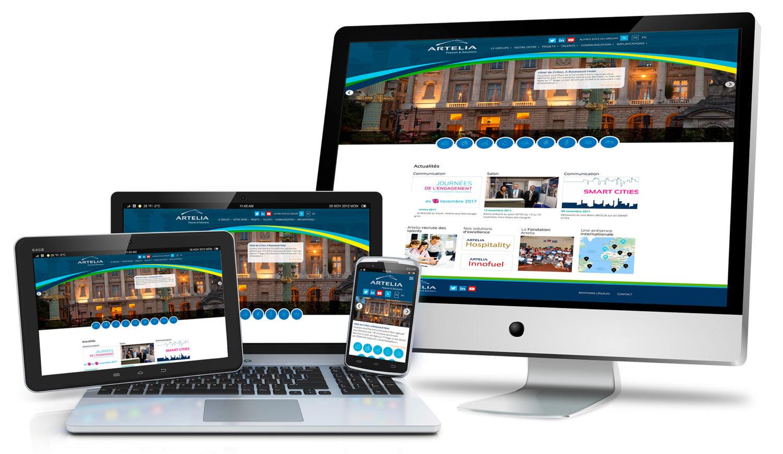 Bleupiment, création de site web professionnel à Lyon