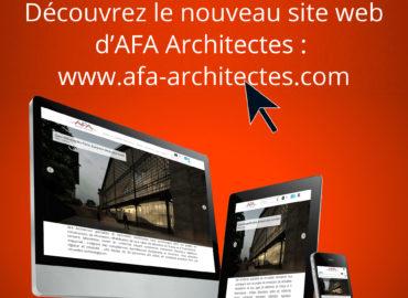 Nouveau site web pour AFA Architectes