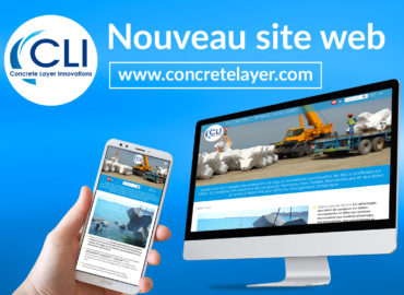 Nouveau site web pour CLI (Concrete Layer Innovations)