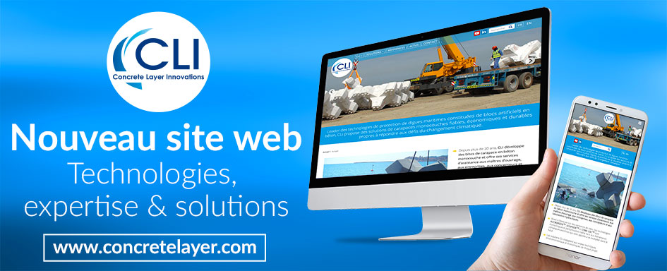 Site web concrete layer innovation