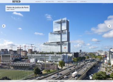 """Création du site web """"RFR >>"""""""